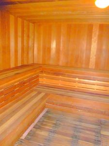 Tow saunas, His and Hers