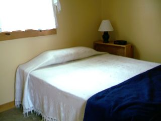 Downstairs bedroom - Alburg cottage vacation rental photo