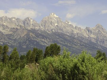 View of the Grand Tetons