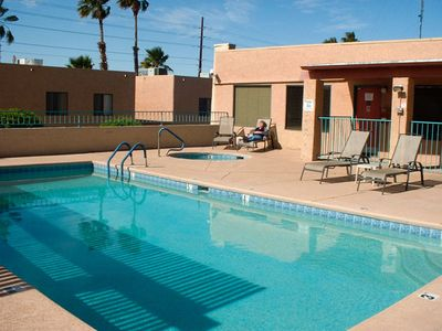 Pool at the Havasu Dunes Resort