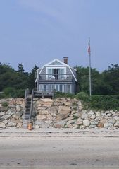 Manomet house photo - House from the beach