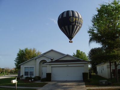 Balloon Ride over villa