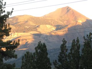 Mammoth Lakes condo photo - Summer view from windows.