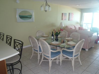 Frangista Beach townhome rental - Dining Area
