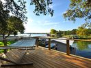 Afternoon sky from the elevated deck - Granite Shoals house vacation rental photo