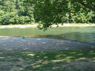 Luray chalet photo - River Bank