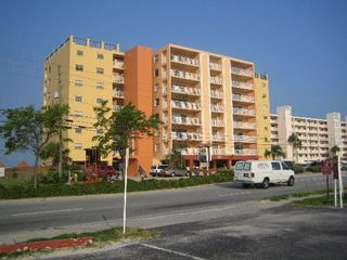 Indian Shores condo photo - Street view of building