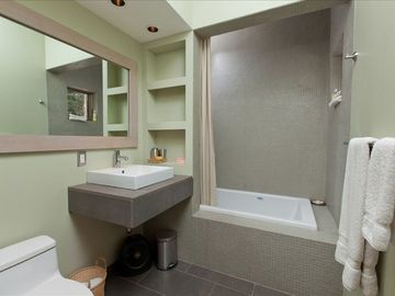 Master Bathroom-Jacuzzi Tub