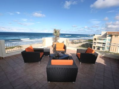 Large Outdoor Spaces With Unobstructed Ocean Views For Up To 8 Guests.