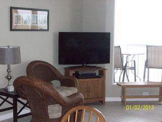 "Cherry Grove Beach condo photo - New (1/13) 46"" flat screen TV with DVD"