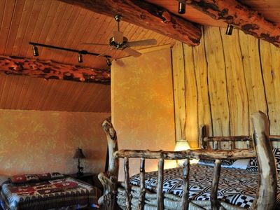 West Yellowstone house rental - king size bed in first bedroom