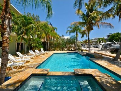 Nearly the largest Pool in Key Largo!