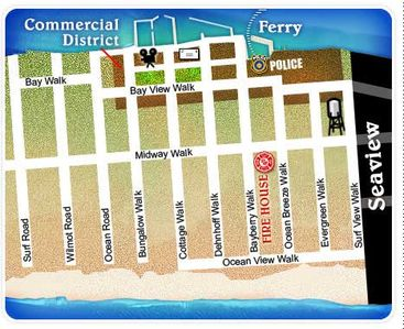 Map of Ocean Beach