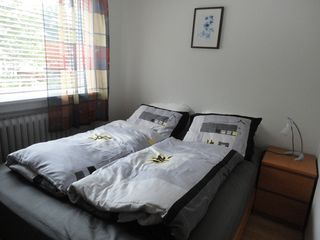 Reykjavik apartment photo - Bedroom with a double bed (160 cm / 63 in wide)