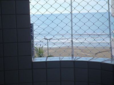 Beira Mar, barbecue on the balcony, lift, garage, Vila Caicara-Grande Beach