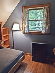 Woodstock house photo - The Murphy bed room doubles as a private study or third bedroom.