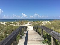 Incredible beachfront townhouse with direct beach access in Boca Grande!