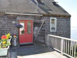 Westport Island cottage photo - Enjoy reading, writing, watching the seals or othe