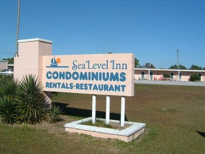 Sea Level Condominiums just one mile from the intersection of Hwy 70 and Hwy 12.