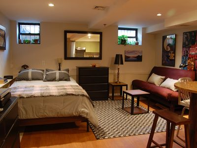 Private Studio Apartment On Tree Lined Street In Central Harlem