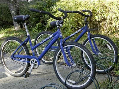 Two quality bikes included with rental