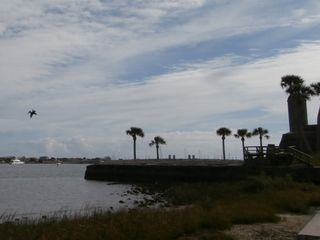 St. Augustine cottage photo - Matanzas Bay and the Castillo de San Marcos, just 2 blocks away.