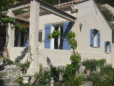 House T3 and garden, in the heart of the creeks, near Marseille and Carry-Le-Rouet