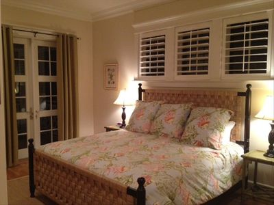 2nd Large Master Suite on 1st Floor with screened porch.