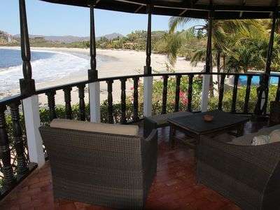 Playa Flamingo house rental - Balcony at Casa de la Playa Vacation Home, Flamingo, Costa Rica