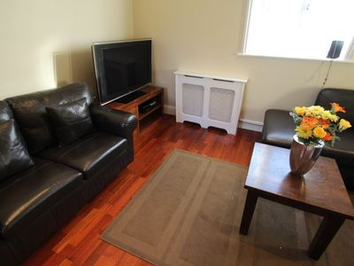Hammersmith & Fulham apartment rental - Three bedroom apartment living area