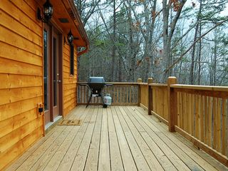 Ellijay cabin photo - Patio Deck with Gas BBQ