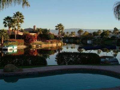 VIEW OF LAKE LA QUINTA