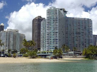 Waikiki condo photo - The Ilikai Suites- We are on the 15th floor in the wing on the left.