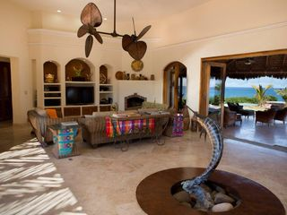 El Cardonal estate photo - Living room with Satellite TV & entertainment center