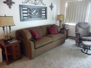 Snowshoe Mountain condo photo - Living Area with new queen sleeper sofa