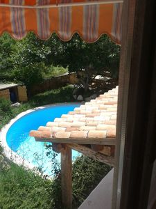 Accommodation near the beach, 120 square meters, with pool