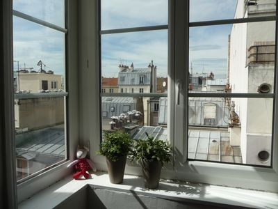 Sunny and tastefully decorated studio flat