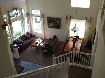 View of Living Room from second floor