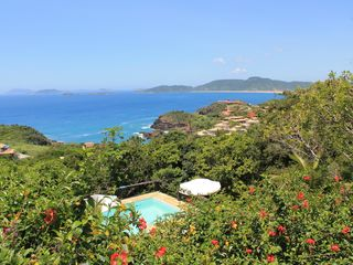 Ferradurinha villa photo - View to the ocean and Geriba beach