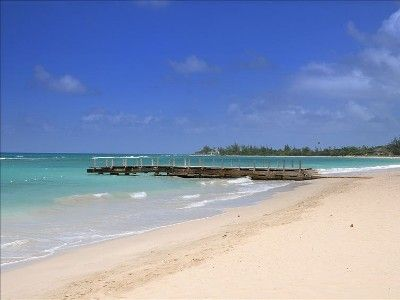 Our private members beach: beautiful white sand beach