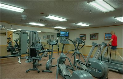 Fitness Room Onsite