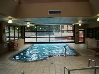 Village at Breckenridge condo photo - Indoor/outdoor pool, 4 new hot tubs, and dry and steam saunas!