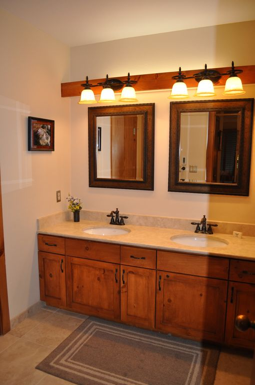 Masterbath w/ heated floor