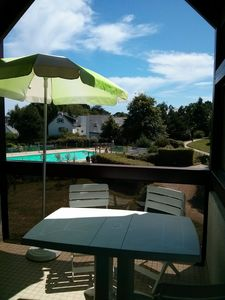 Carnac 3 room apartment with heated pool in residence