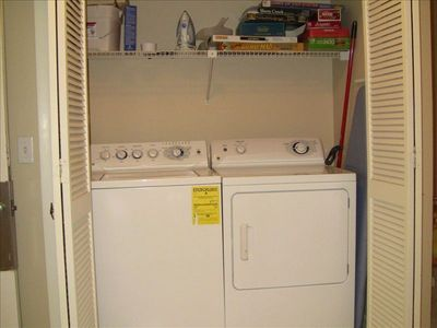 Washer and Dryer in Villa