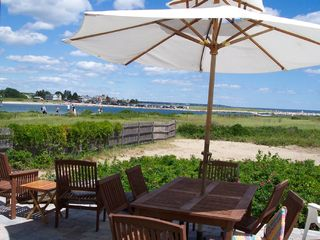 Wells townhome photo - Atlantic House Patio - Channel/ocean view