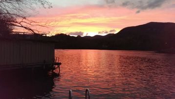 Lake Lure cabin rental - Say Ahhh . . . Peaceful Sunset Views . . .