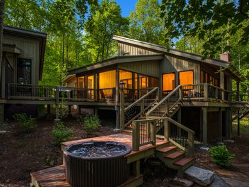 Fayetteville house rental - A view from the back of the Tree House.