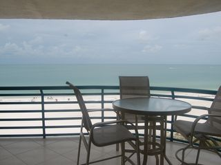 Les Falls condo photo - Perfect view for dolphin sightings and sunsets!
