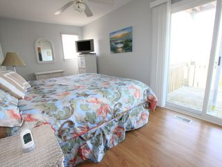 Surf City house photo - First Floor Master Bedroom with King Bed and Private Bath